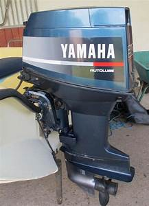 Yamaha 30hp Outboard Manual Start With Set Of Remote Controls
