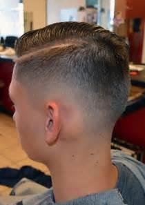 Fade Haircut Long Hair