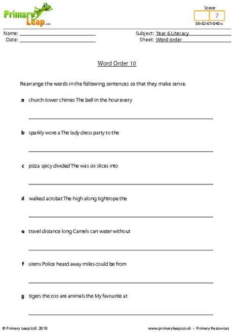 all worksheets 187 order of sentences worksheets printable