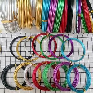 Buy 1  2  2 5  3mm Color Aluminum Wire Diy Aluminum Wire Soft