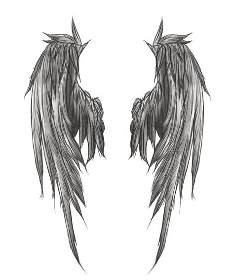 pin  ani  expression angel wings tattoo wing