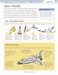 Activities: Space Shuttle Printable (Grades 3-6 ...