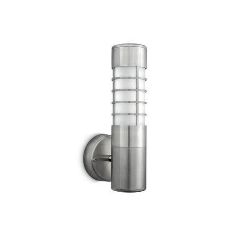 philips firefly 01787 47 16 outdoor wall light stainless
