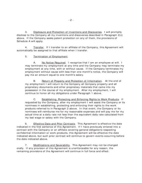 intellectual property agreement    california