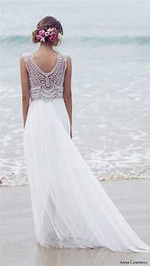beach style embroidered wedding dresses for women With beach style wedding dress