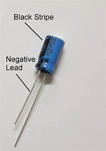 Capacitor positive/negatives sides? | All About Circuits