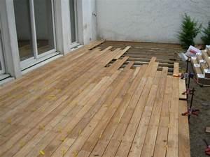 Terrasse En Caillebotis : amusing terrasse facile a poser gallery best image ~ Premium-room.com Idées de Décoration