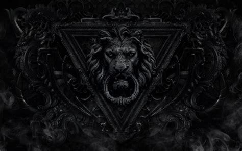black lion hd wallpaper wallpapersafari