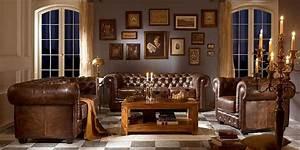 sofas chesterfield bricodecoracioncom With decoration interieur style anglais
