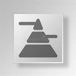 Marketing Mix Pyramid Stock Illustration  Illustration Of