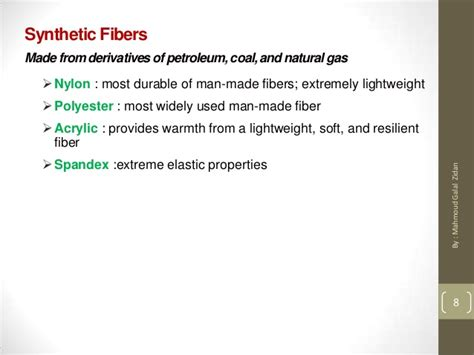 general types  fabric
