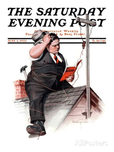 'Saturday Evening Post Cover, May 2, 1925' by Robert C ...