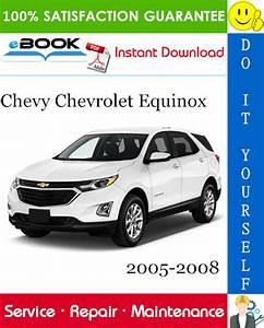 Chevy Chevrolet Equinox Service Repair Manual 2005