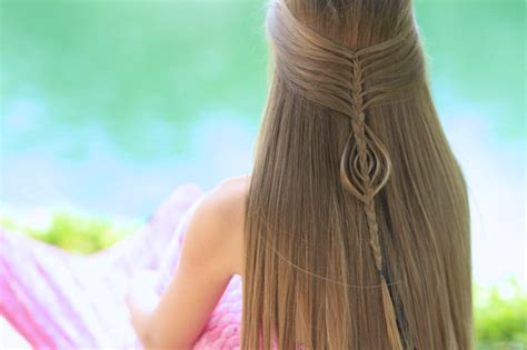 Mermaid Braid Combo Cute Girls Hairstyles