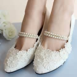 white ballet flats wedding low heel white lace wedding shoes bridal moccasins footwear flats shoes ballerina ballet
