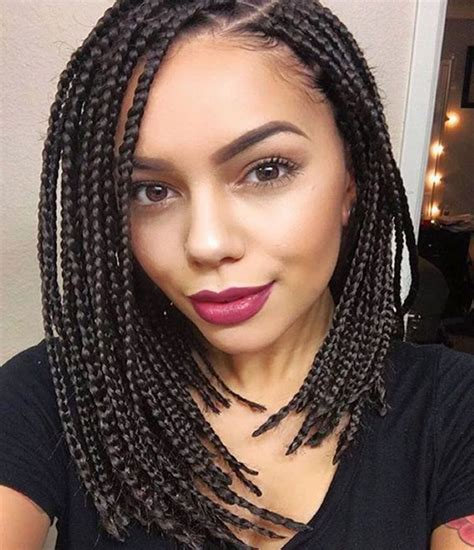 Braiding Hairstyles Pictures For by 14 Dashing Box Braids Bob Hairstyles For New