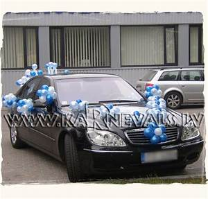 New baby - welcome home car - balloon decoration / Car