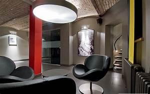 restructuration d39un local en bureaux d39entreprise hall With architecte d interieur le mans