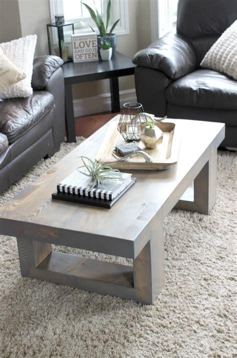 modern coffee table build plans love create celebrate