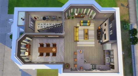 chambre parentale avec salle de bain sims 4 maison sans francisco house