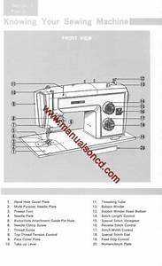 Kenmore Model 1803 Sewing Machine Manual 158 1803