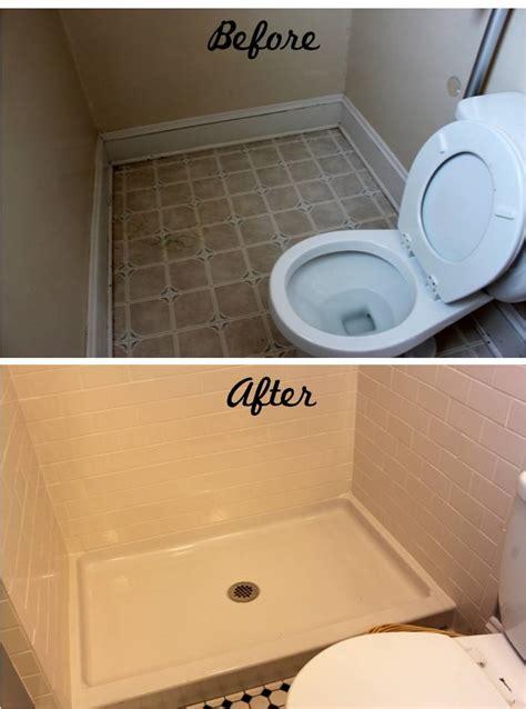 bathroom reveal turning  ugly  bath   charming