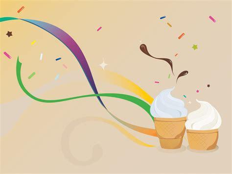Icecream Powerpoint Templates  Brown, Food & Drink