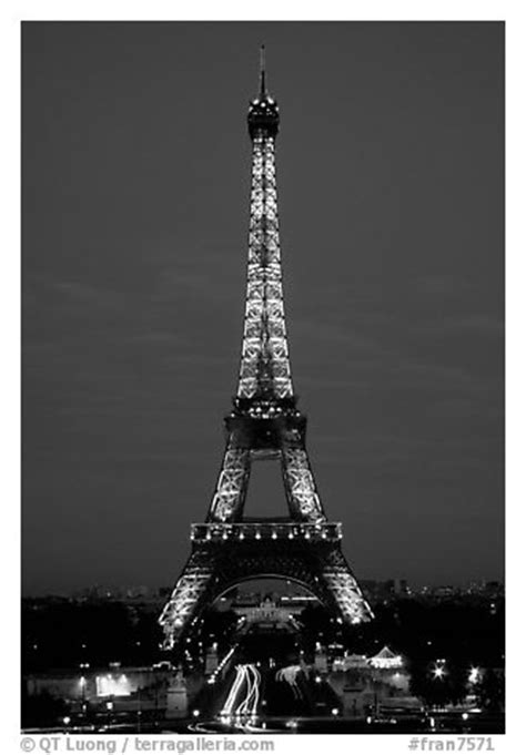 black and white picture photo tour eiffel eiffel tower by