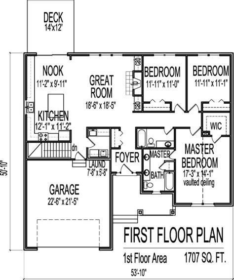 3 bedroom house plans with basement marvelous 3 bedroom house plans with basement 6 of houses