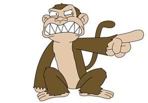 Monkeys Closet by Angry Monkey Cartoon Clipart Best