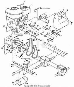 Troy Bilt Bronco Belt Diagram
