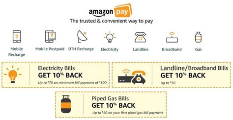 Let your customers experience the future of shopping. Amazon Pay gets Electricity, Landline, Broadband, Gas and Postpaid bill payments, offers up to ...