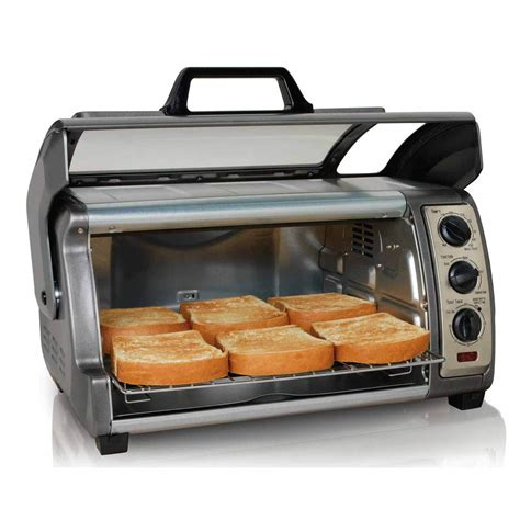 Simple Toaster Oven - easy reach convection oven 31126 hamiltonbeach