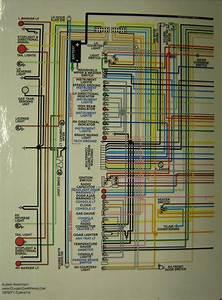 Corvette Color Laminated Wiring Diagram 1953 1981 2016