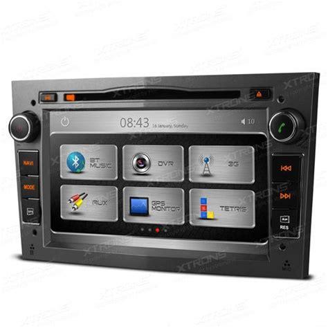 autoradio 7 quot opel 2din cd dvd navegador gps bluetooth 3g usb xtrons gris oscuro