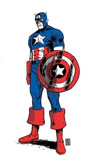 Captain America Avengers Drawing