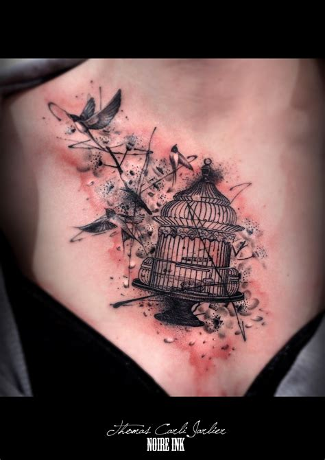 Cage A Oiseaux Tattoos