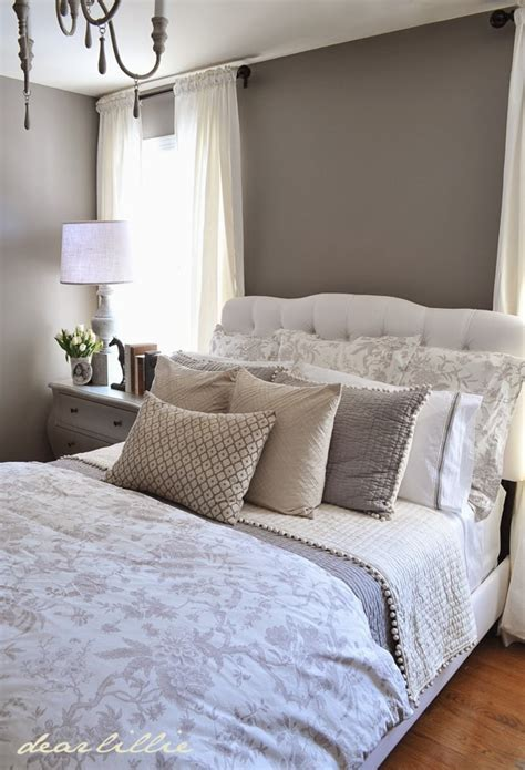 Our Gray Guest Bedroom And A Full Source List ( Wall Color