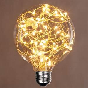 G95 Warm White Ledimagine Tm Fairy Light Bulb