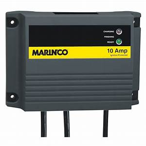 Marinco Charge Pro Waterproof 10a Battery Charger