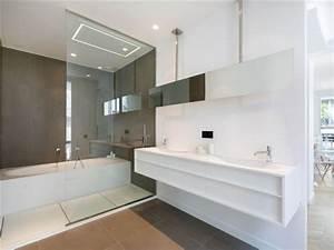 101 photos de salle de bains moderne qui vous inspireront With salle de bain moderne avec baignoire