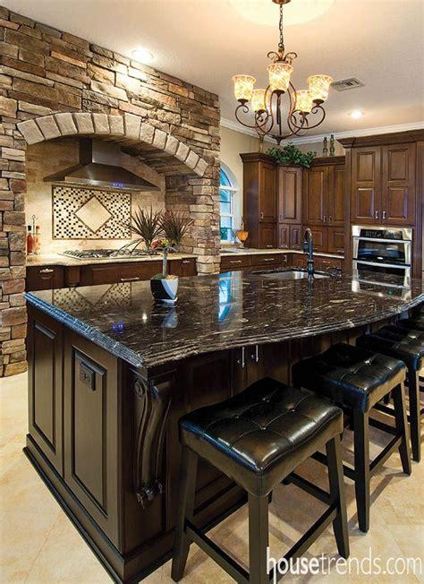 black granite kitchen island black granite kitchen island