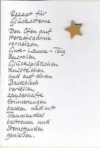 Weihnachtswünsche Ideen Lustig : rezept f r gl ckssterne weihnachtstexte gedicht ~ Haus.voiturepedia.club Haus und Dekorationen