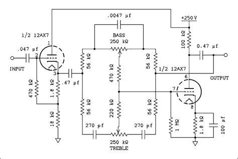 Vacuum Tube Valve Tone Control Circuit Build