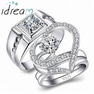 couple jewelry matching his and hers jewelry sets for With men and women matching wedding rings