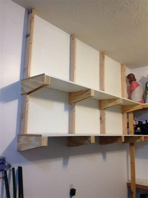 Garage Wall Shelving Brackets Home Design Ideas