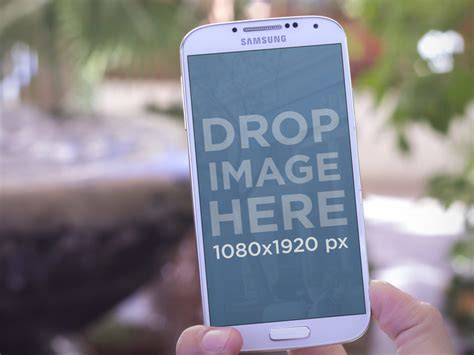 placeit product mockup template samsung galaxy  outdoors