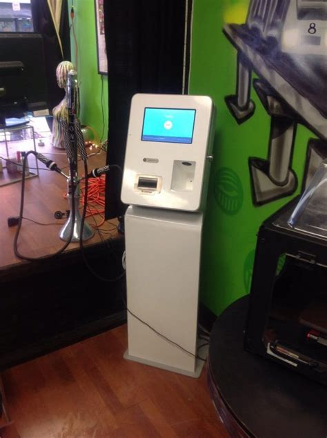 Bitcoin atms and kiosks are much like the standard atms you see every day. Bitcoin ATM in Miami - Vapor Life Store