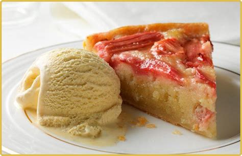 recette tarte  la frangipane rhubarbe  orange vanille