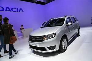 Argus Dacia Logan : logan mcv le break dacia se fait plus flatteur au mondial de paris l 39 argus ~ Maxctalentgroup.com Avis de Voitures